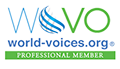 WoVo World Voices logo